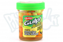 Силикон Gulp! Alive Floating Salmon Eggs 9мм Orange (1313095)